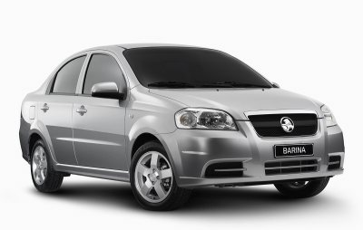 Holden Barina sedan - TK series - MADE IN CHINA