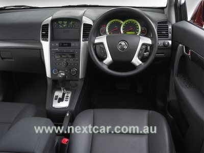2007 Holden Captiva LX. Interior. Space is maximised in the Holden Captiva,