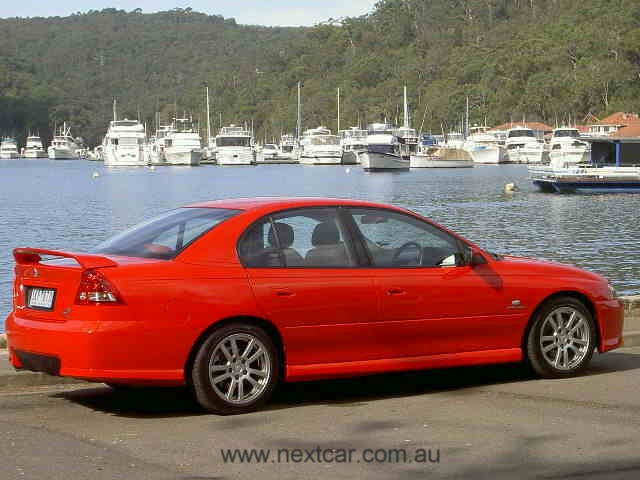 Holden Commodore S - VYII series (copyright image)