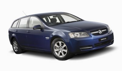 Holden Commodore Omega Sportwagon - VE series (GM Corp. copyright image)