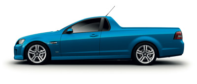 Holden VE Ute - 60th Anniversary Model - Blue - Side Profile - Image Copyrght GM Corp