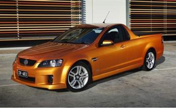 Holden Commodore SV6 ute (GM copyright image)