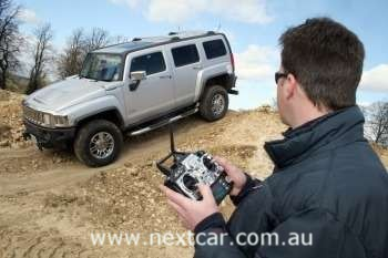 Hummer H3 remote controlled car