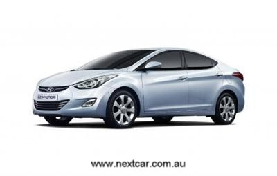 Hyundai's new compact - known as 'MD' (copyright image)