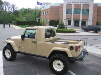 2007 Jeep JT Concept which will be displayed at SEMA 2007 later in the year