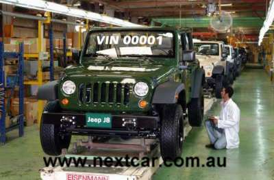 Jeep J8 production commences in Egypt (copyright image)