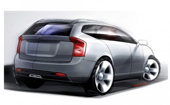 New Kia Carens sketch