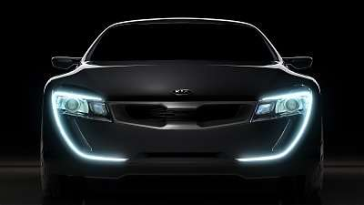 Kia Sports Coupe Concept Car