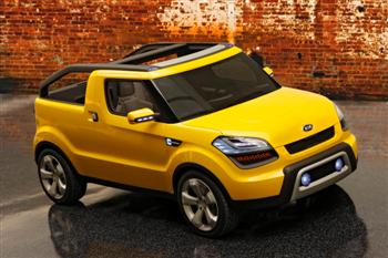 Kia Soul'ster concept (copyright image)