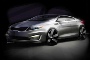 New Kia Magentis: first details (copyright image)