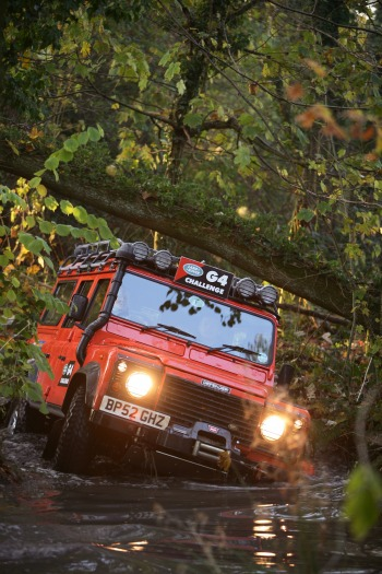 Land Rover G4 Challenge trial