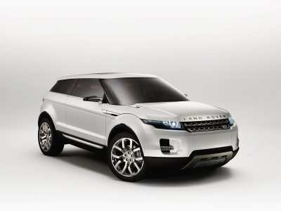 Land Rover LRX Concept Vehicle