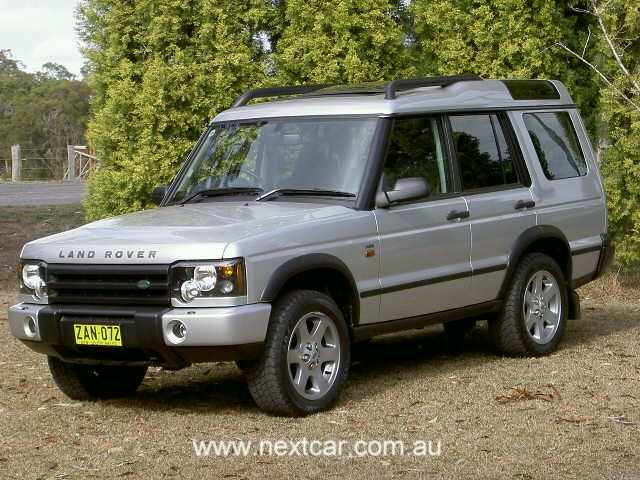 2004 Land Rover Discovery HSE road test (copyright image)