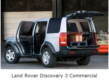 2007 Land Rover Discovery 3 Commercial
