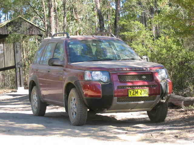 2004 Land Rover Freelander S road test (copyright image)