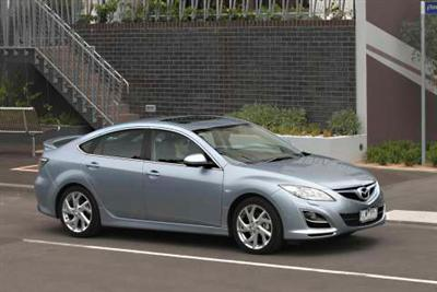 New Mazda 6 Luxury Sports hatch (copyright image)