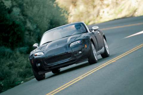 The new 3rd generation Mazda MX5 roadster
