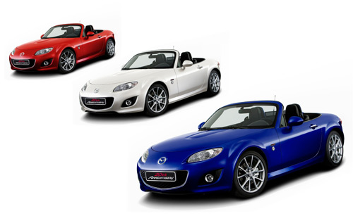 Mazda MX-5 20th Anniversary - Image Copyright Mazda