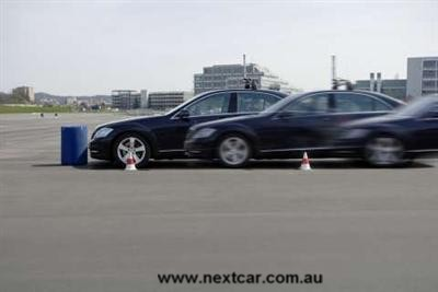 Autopilots at mercedes benz next car pty ltd 25th may for Mercedes benz autopilot