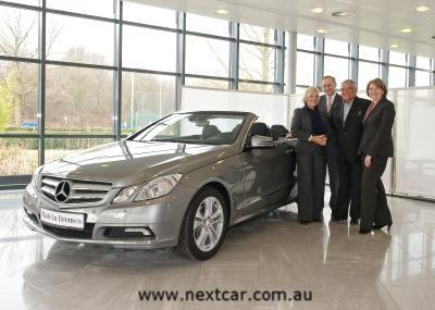 First Mercedes-Benz E-Class Cabriolet delivered (copyright image)