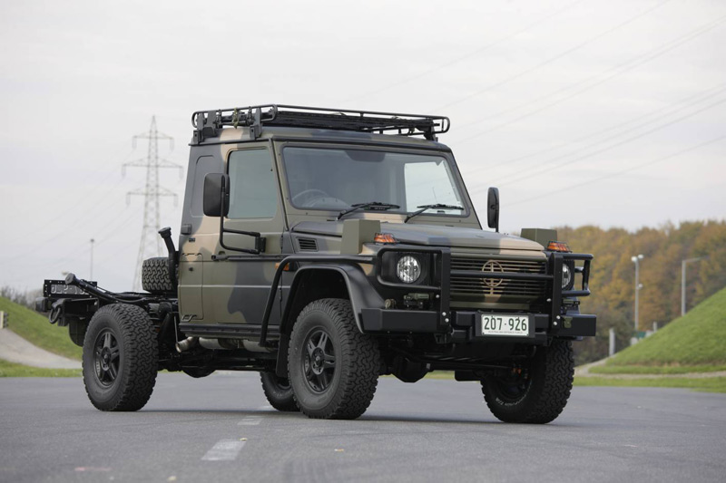 Mercedes-Benz G-Wagon - Image Copyright Mercedes-Benz