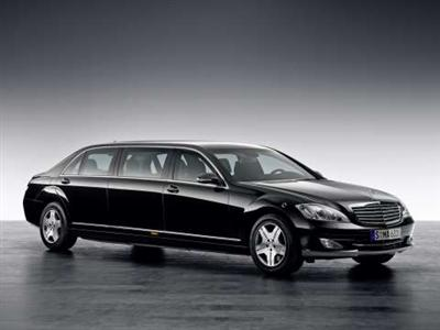 Mercedes-Benz S 600 Pullman Guard (copyright image)