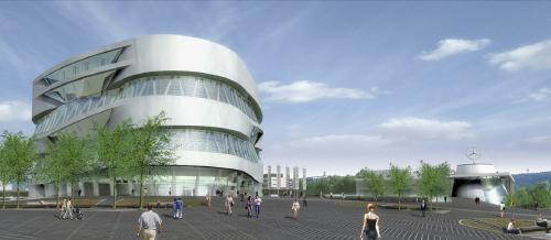 The new Mercedes-Benz Museum 