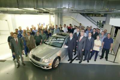 Last 203 Series C-Class Sedan Rolls off Assembly Line in Sindelfingen