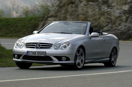 The new 2007 Mercedes-Benz CLK V8