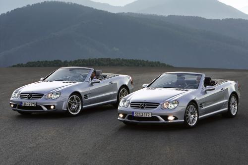 2006 Mercedes-Benz SL 55 AMG and 