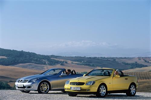Ten years of the SLK-Class