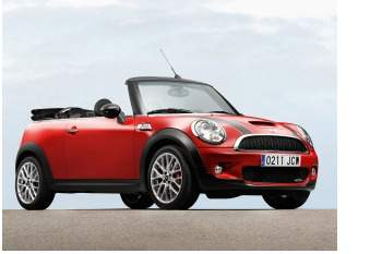2009 Mini Cooper John Cooper Works convertible (copyright image)