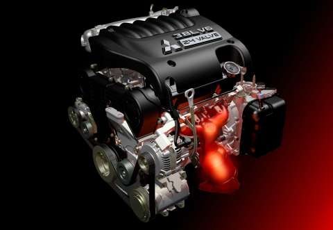 Mitsubishi's New 3.8 litre V6 For The New '380'