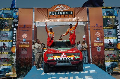 Luc Alphand and Gilles Picard 