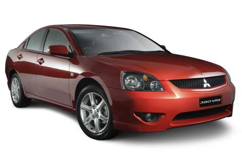 I Mitsubishi 380 2006 Vrx Red Studio