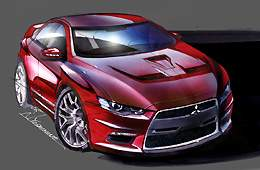 Mitsubishi Project X concept car