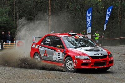 Team Mitsubishi Ralliart Victorious in Victoria