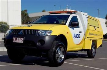 Mitsubishi Tritons for RACQ (copyright image)