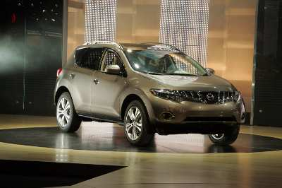 The new Nissan Murano debuts at the 2007 Los Angeles Motor Show