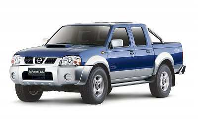 2008 Nissan Navara D22, powered by a new 2.5-litre turbo-diesel engine