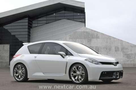 2005 Nissan Azeal Concept. 2005 Nissan Tiida Concept Car