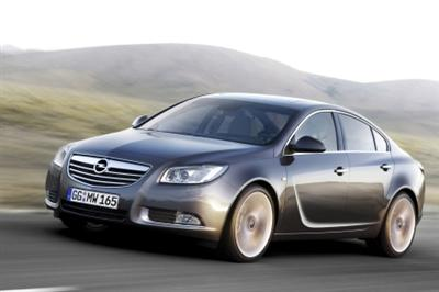 GM's new Vectra for 2009, the Opel (and Vauxhall) Insignia 