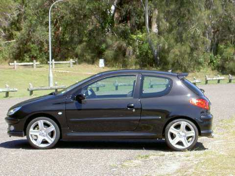 2004 Peugeot 206 GTi 180  at South West Rocks NSW