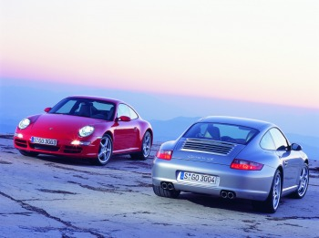 2006 Porsche 911 Carrera 4 and Carrera 4S