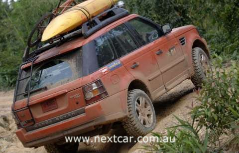 2006 Range Rover Sport in Southeast Asia preparing for G4 Challenge