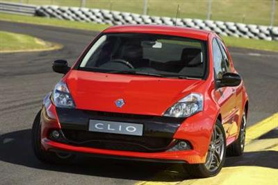 Renault Clio RenaultSport 200 Cup (copyright image)