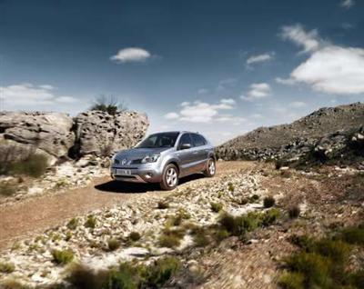 Renault Koleos Breaks Cover