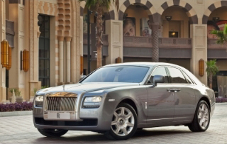 Rolls Royce Ghost - Image Copyright Rolls-Royce Motor Cars