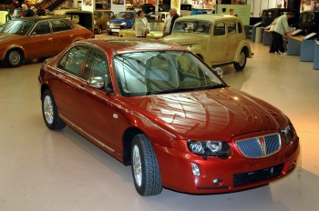 The last Rover 75