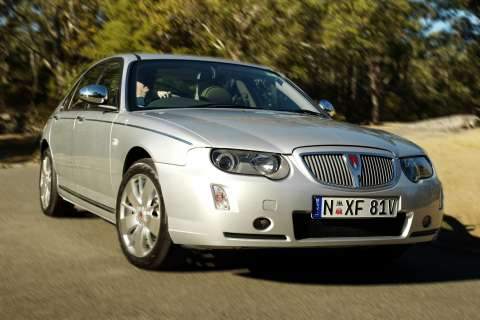 The new Rover 75 Connoisseur